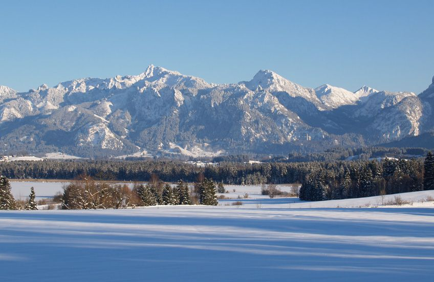 Beichelsteinalpe Winter Landhaus